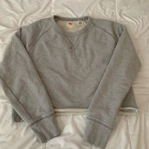 Cropped Levis Sweater